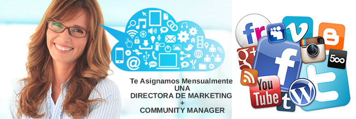 Directora de Marketing Online + Community Manager
